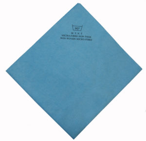 LAVETTE NON TISSEE BLEUE 40 X 38 CM