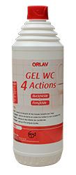 GEL WC 4 ACTIONS