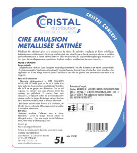 CIRE EMULSION METALISEE SATINEE BD3