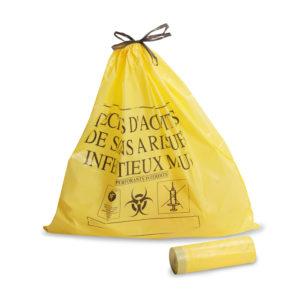 Sacs poubelles - jaune color - DASRI de 15L à 110L
